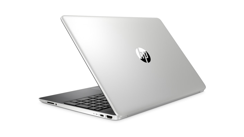 Left rear view of HP Laptop 15 dy1751ms i5