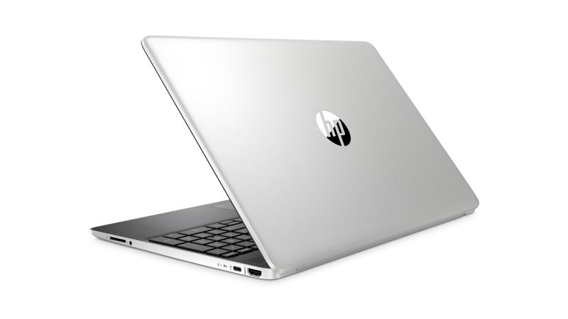 Vista posterior izquierda del portátil HP 15 dy1751ms i5