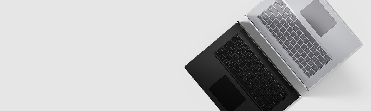 Den nye Surface Laptop 3 ryg til ryg