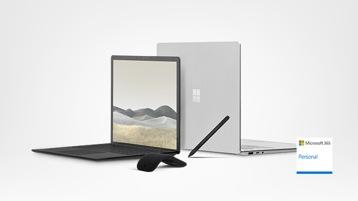 Surface Laptop 3 avec Surface Arc Mouse, Surface Pen et Office 365