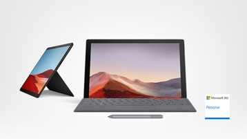 Surface Pro 7 met Surface Arc Mouse, Surface Pen en Office 365