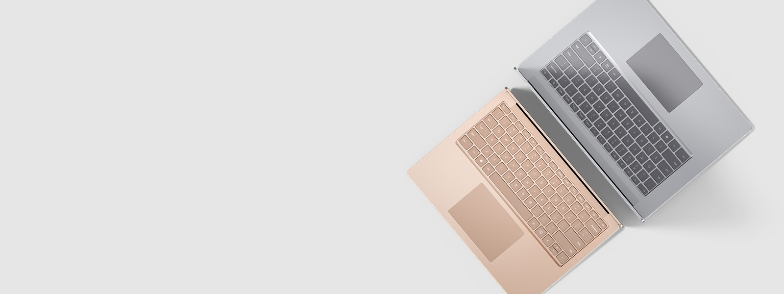 Surface Laptop 3 in Sandstone and Platinum