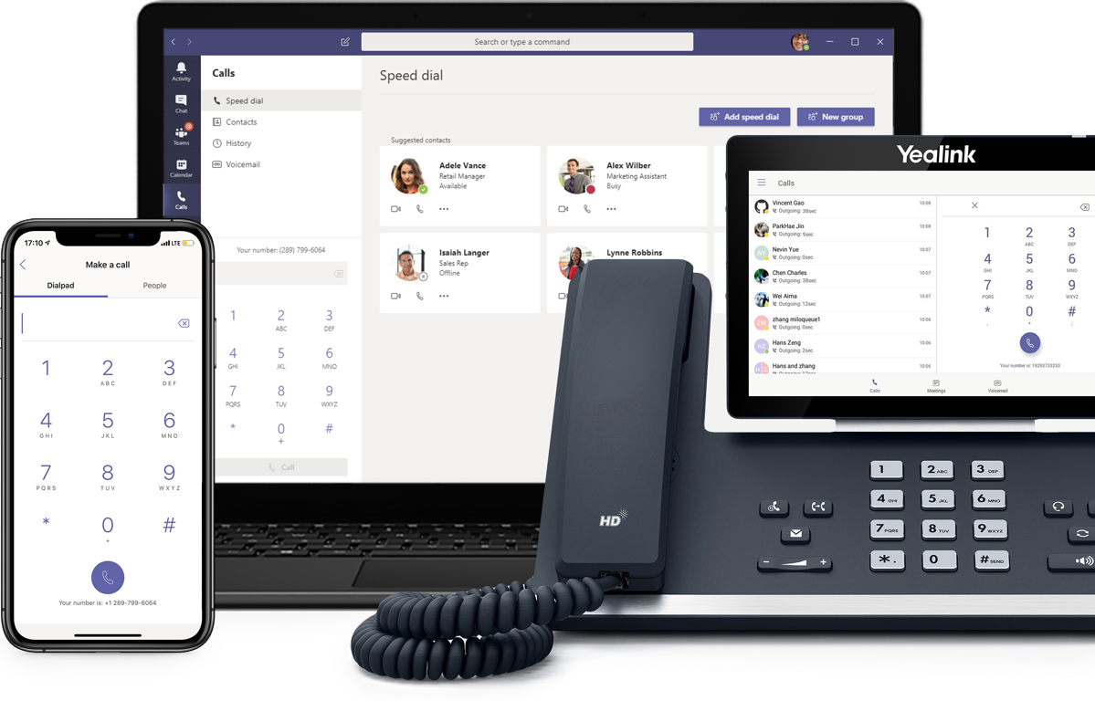 Microsoft 365 Business Voice, Cloud-based VOIP phone system