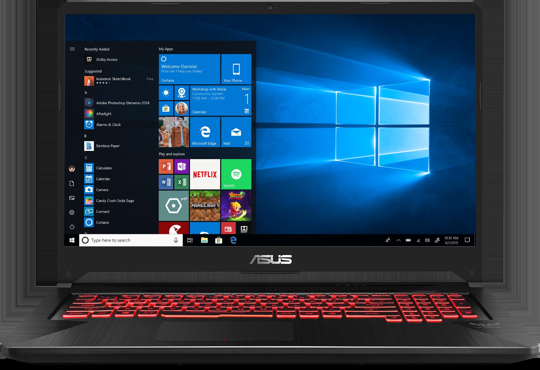 Asus TUF FX705DY-EH53 Gaming Laptop