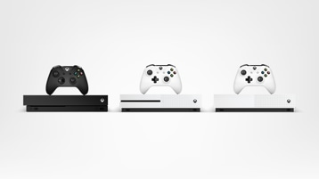 Xbox One X, Xbox One S, Xbox One S All digital