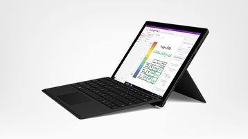 Surface Pro 6 + Black Type cover Bundle