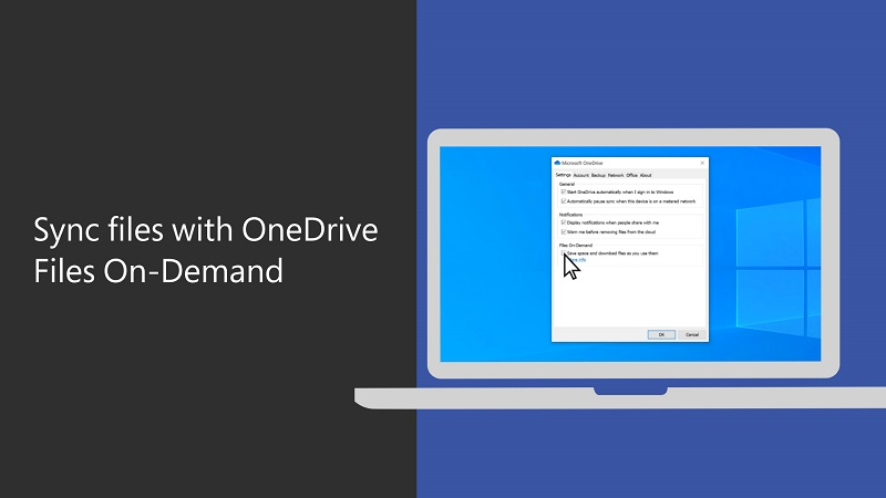 Sync files with OneDrive Files On-Demand