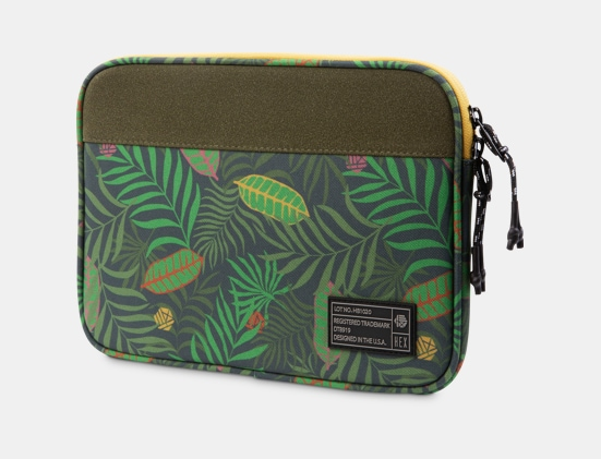 Front view of HEX Surface Go Sleeve in Tropical Floral