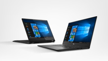 Dell and Lenovo laptops