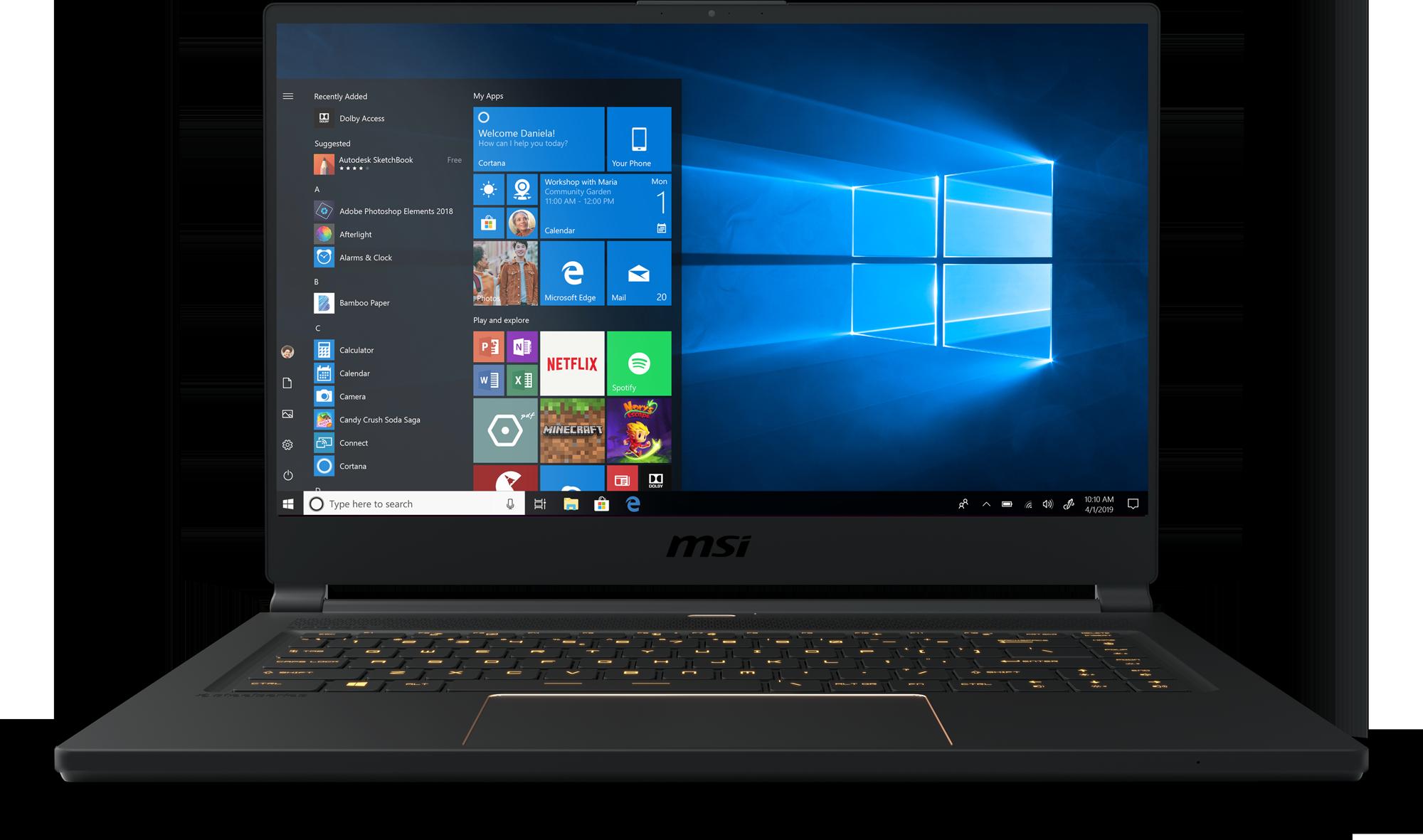 Buy MSI GS65 Stealth-422 Gaming Laptop - Microsoft Store