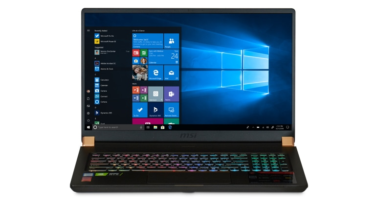 Buy MSI GS75 Stealth-247 Gaming Laptop - Microsoft Store