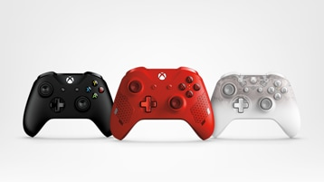 Xbox One wireless controllers.