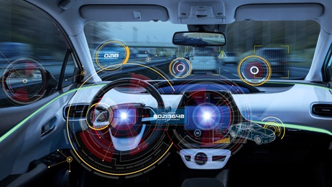 Automotive dashboard controls using modern technology