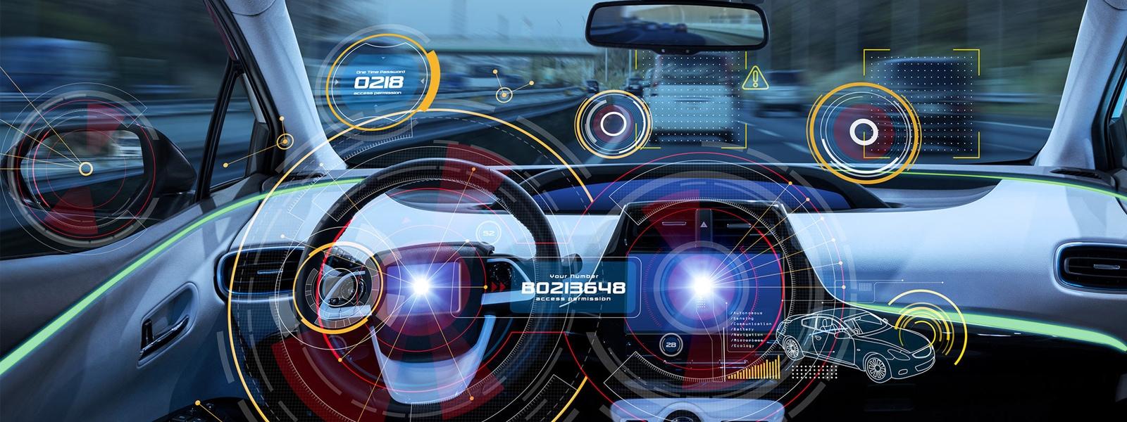 Automotive dashboard controls using modern technology