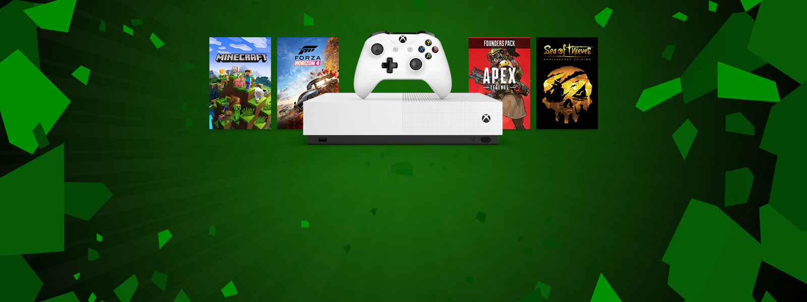 Xbox One S All-digital console and Xbox games Super Game Sale
