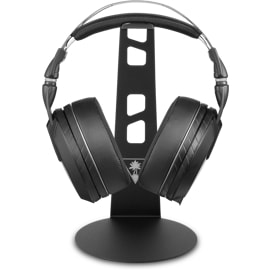 Turtle Beach Ear Force HS2 Universal Gaming Headset Stand with Head set on
