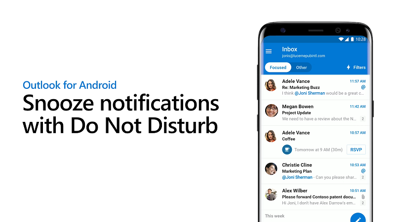 Outlook for iOS Gets Do Not Disturb