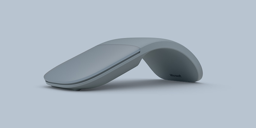 Surface Arc Mouse in der Farbe Platin
