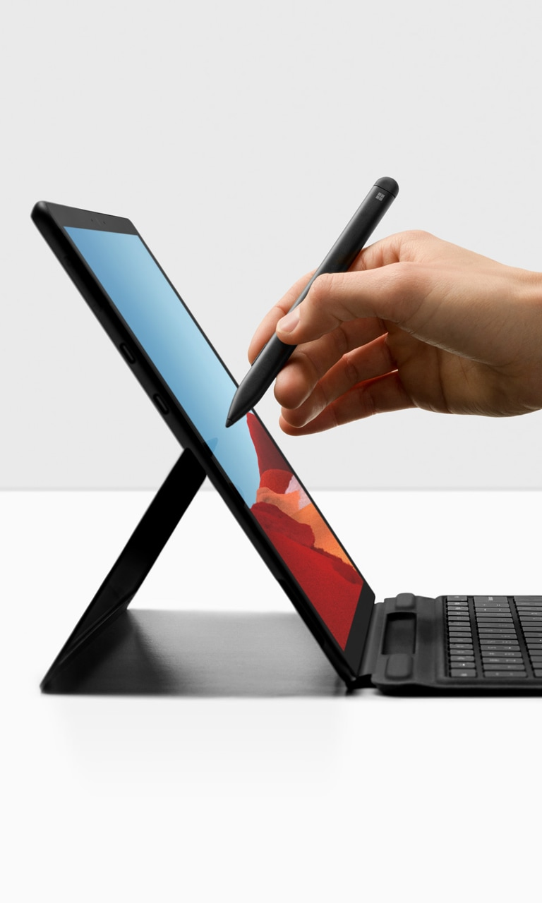 Meet The New Surface Pro X Ultra Thin And Always Connected Microsoft Surface