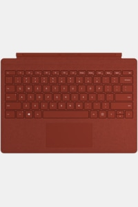 Poppy Red Surface Pro Signature Type Cover