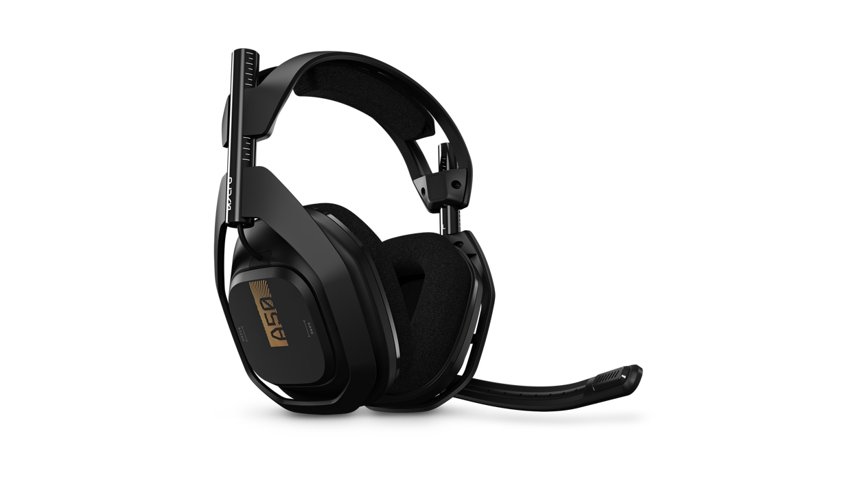 Left front view of Astro Gaming A50