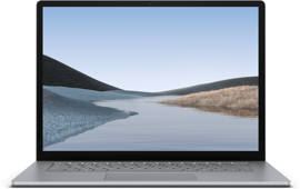 Surface Laptop 3 for Business - 15 inch, Platinum (Metal), Intel Core i5, 8GB, 256GB