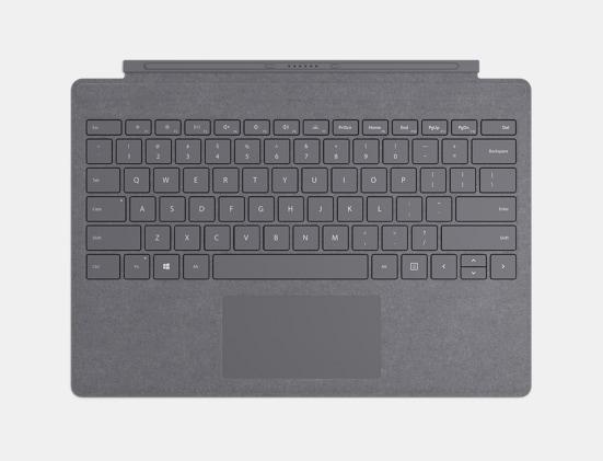 Platinum Surface Pro Signature Type Cover