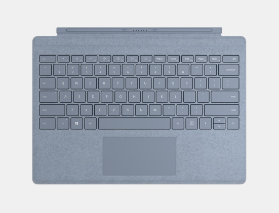 Ice Blue Surface Pro Signature Type Cover