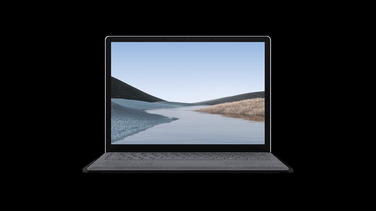 Surface Laptop 3 in Platinum Alcantara in color platinum (alcantara®)