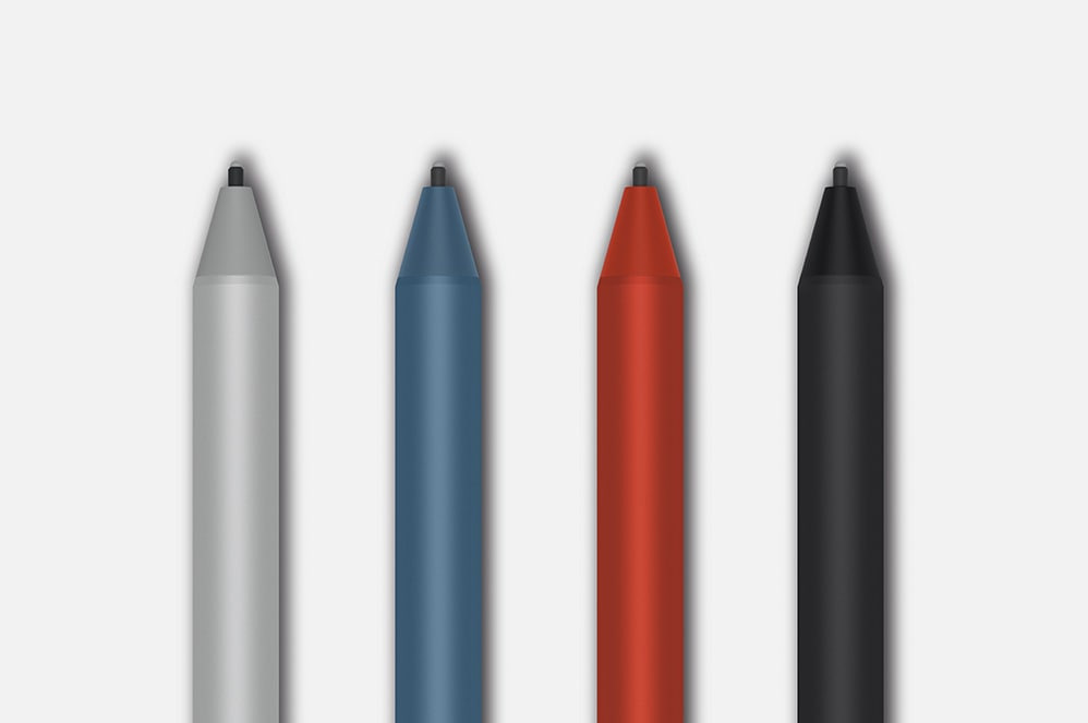 Four Surface Pens