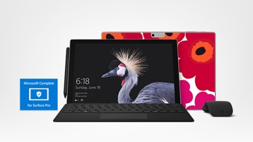 Surface Pro, Surface accessories and Marimekko Skin for Surface