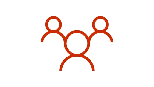 3 iconos de personas