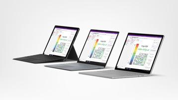 Promotion Surface Pro 6, Surface Laptop 2 et Surface Book 2.