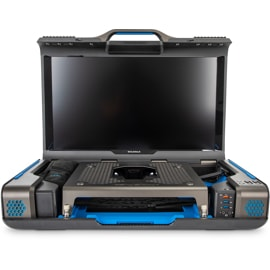 Front view of Gaems Guardian Pro XP opened