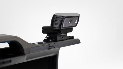 Close up of Gaems Guardian Pro XP camera mount