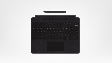 Clavier Surface Pro X Signature Keyboard avec stylet Slim Pen