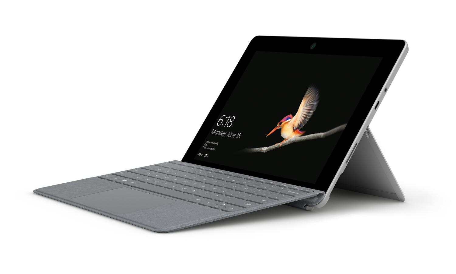 A Surface Go with type cover