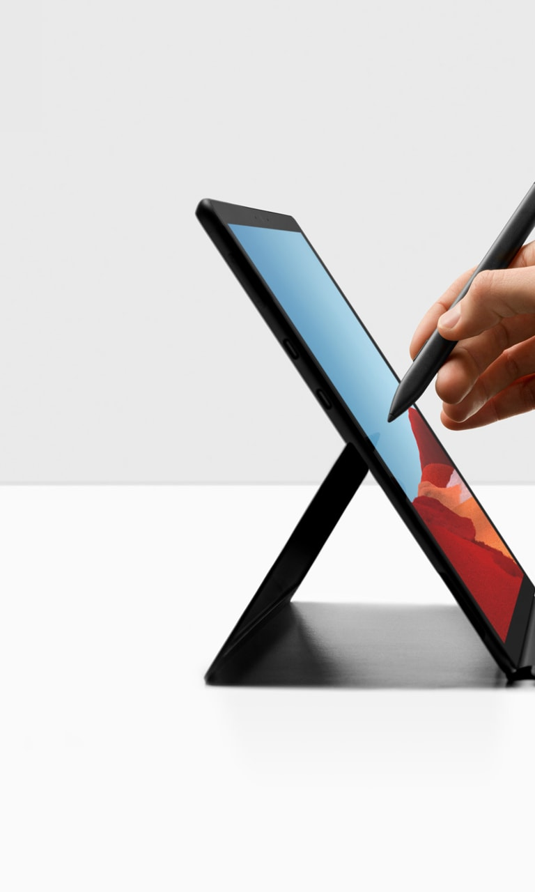 Meet the New Surface Pro X – Ultra-thin and Always