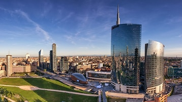 Skyline of Milan