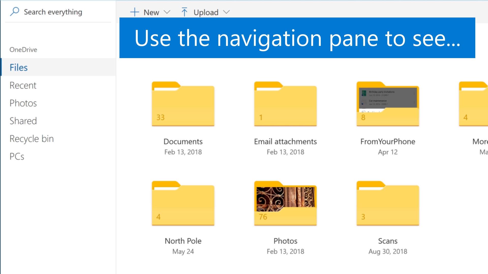 OneDrive Basics Home for SOC