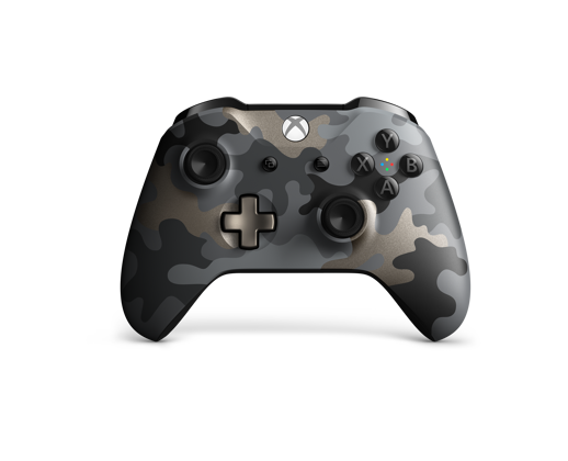 Front view of the Xbox One Wireless Controller Fortnite Special Edition