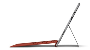 Surface Pro 7 side profile with Surface Signature Type Cover