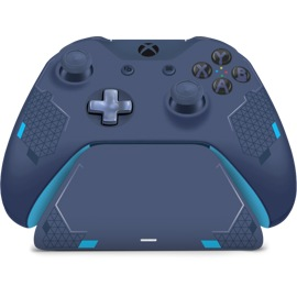 Front view of Controller Gear Sport Blue Special Edition - Xbox Pro Charging Stand