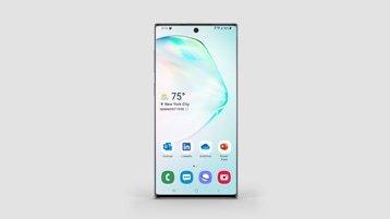 A Samsung Galaxy Note10