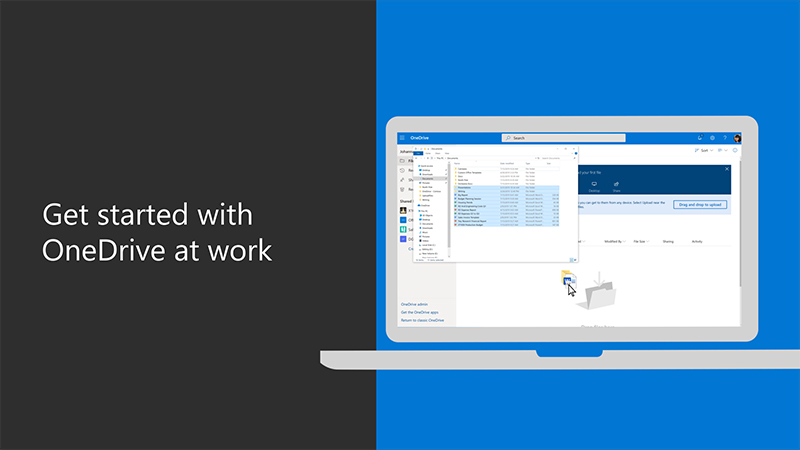 Get started with OneDrive at work