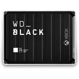 Bird eye view of the Western Digital Black P10 for Xbox One