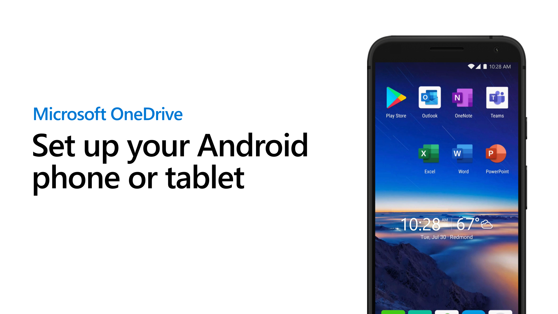 Set up OneDrive for Business on your phone or tablet
