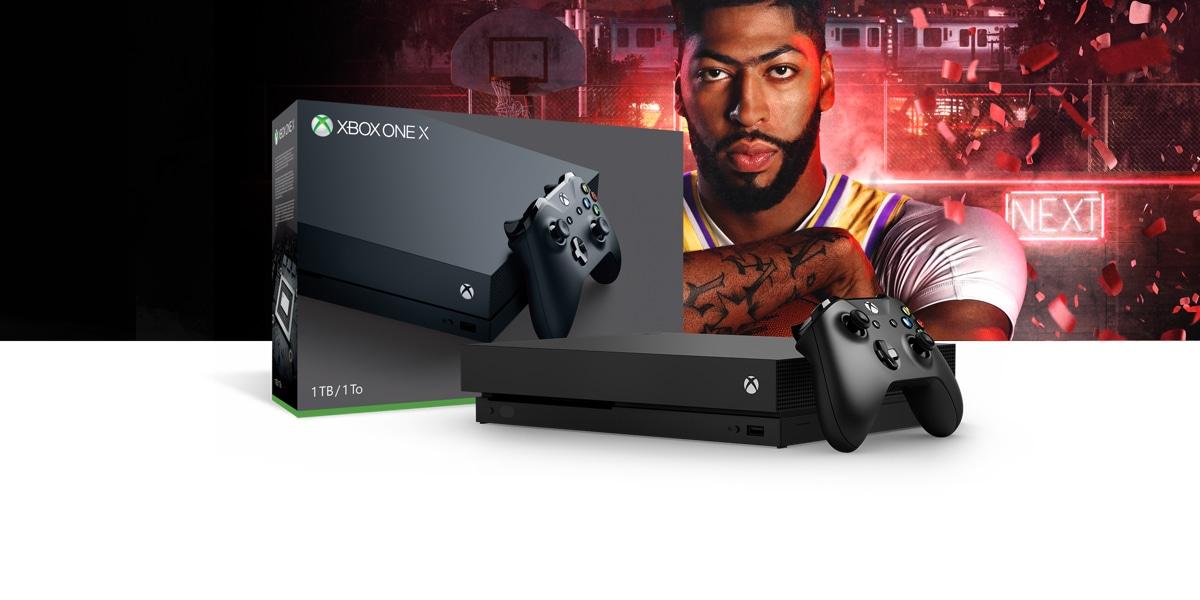 Xbox One X 1TB Console – NBA 2K20 Bundle