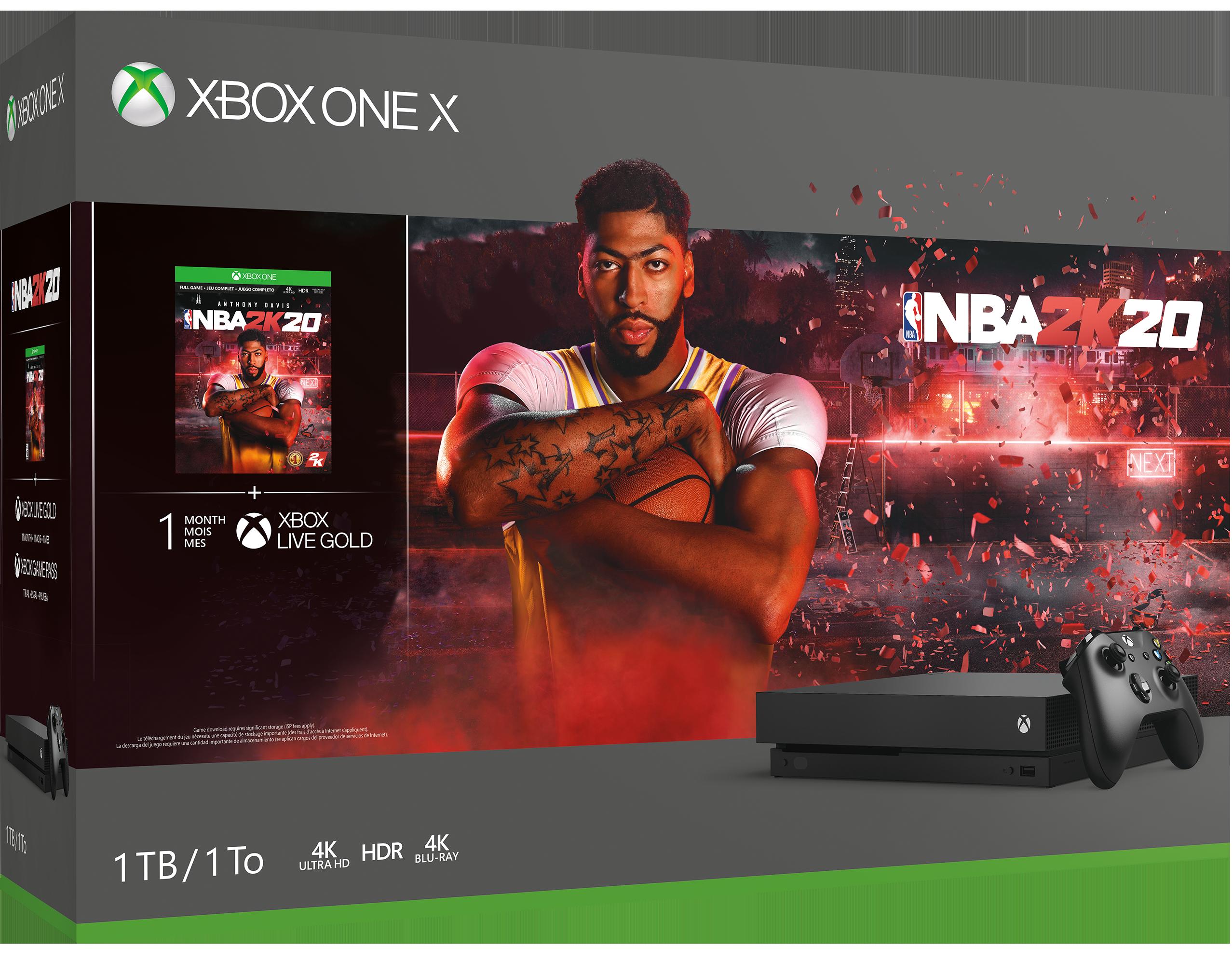 Xbox One X 1TB Console - NBA 2K20 Bundle