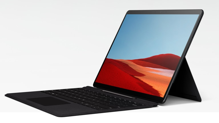microsoft surface pro x wallpapers poster image